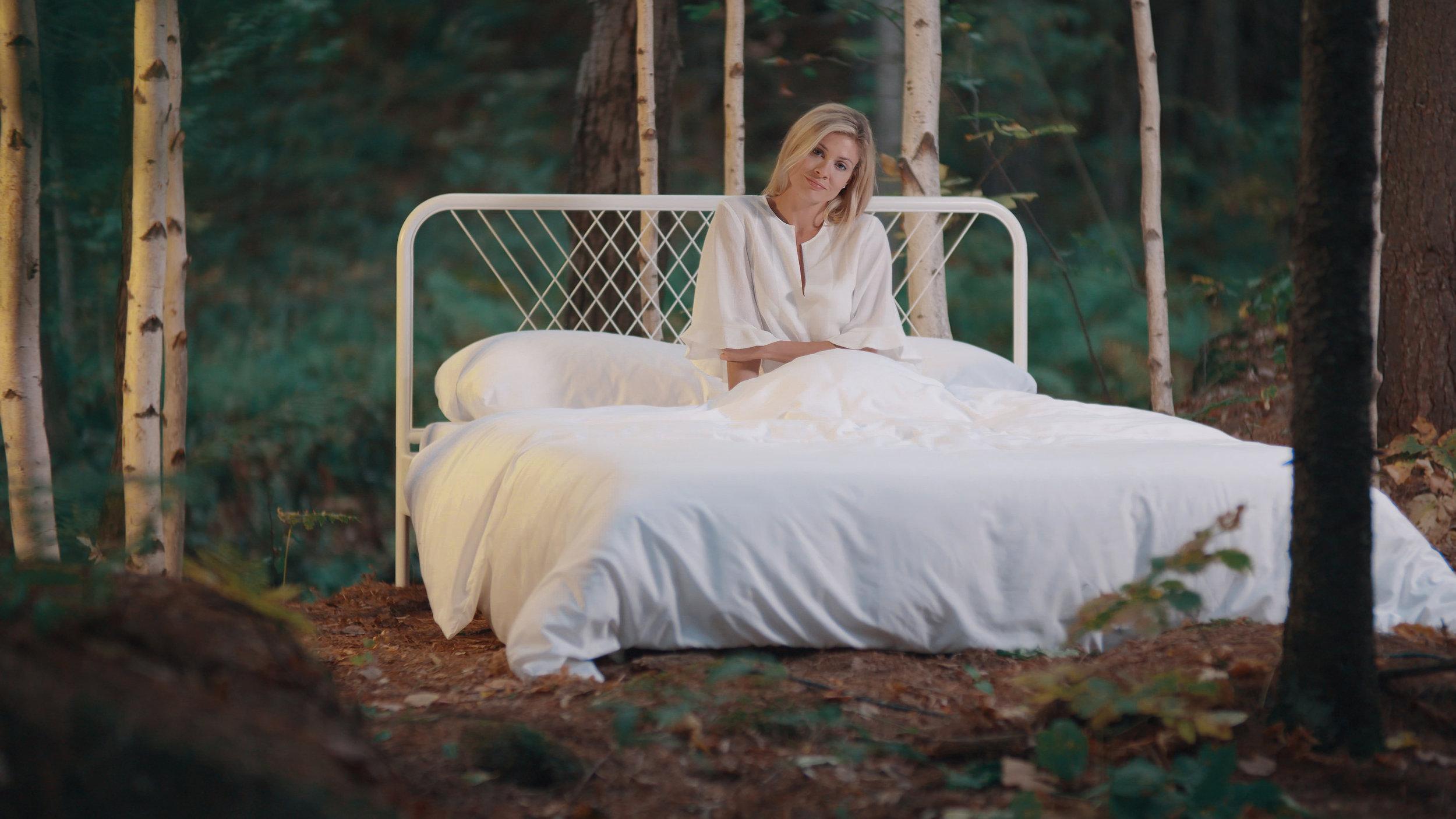 De la nature à votre lit - Collection de draps unique fait de fibre de bouleau 70% et de cotton Supima 30%