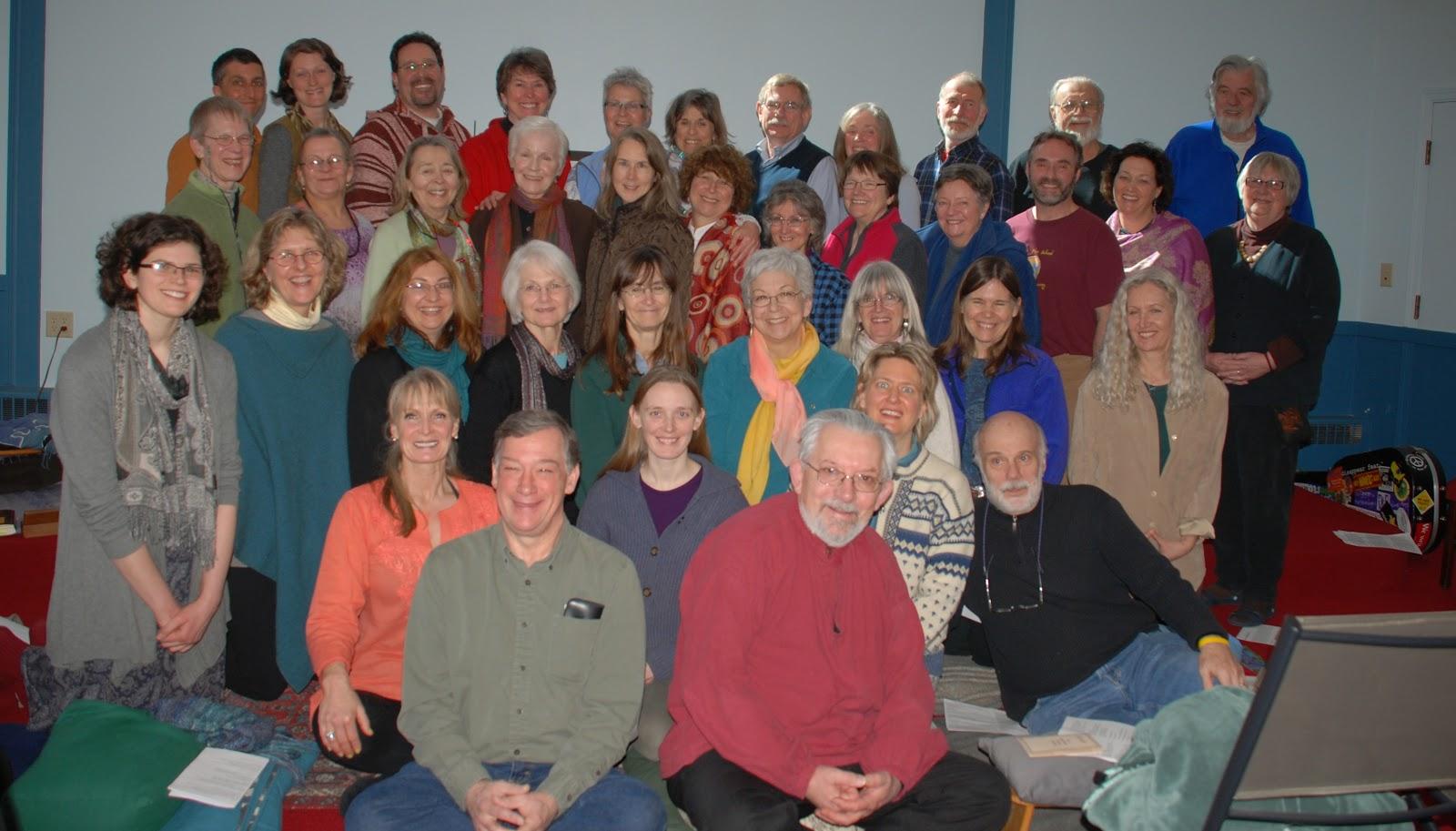 5 Mindfulness Trainings Transmission - 2013