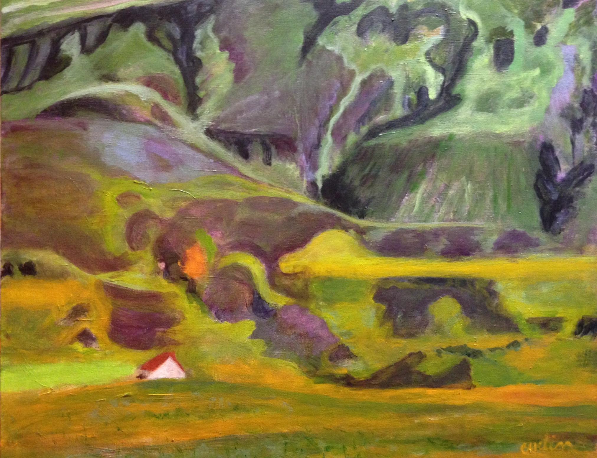 """""""Iceland landscape"""" sold"""