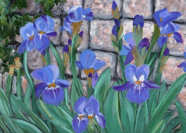 """Irises"" sold"