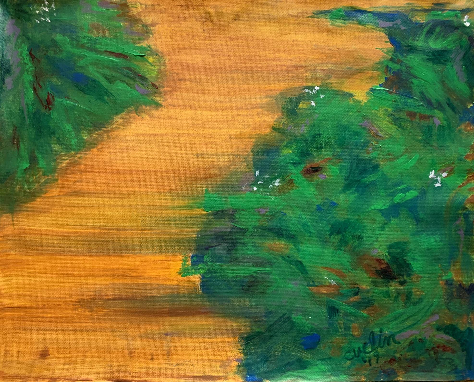 """""""Path"""" 16"""" x 20"""" acrylic on canvas"""