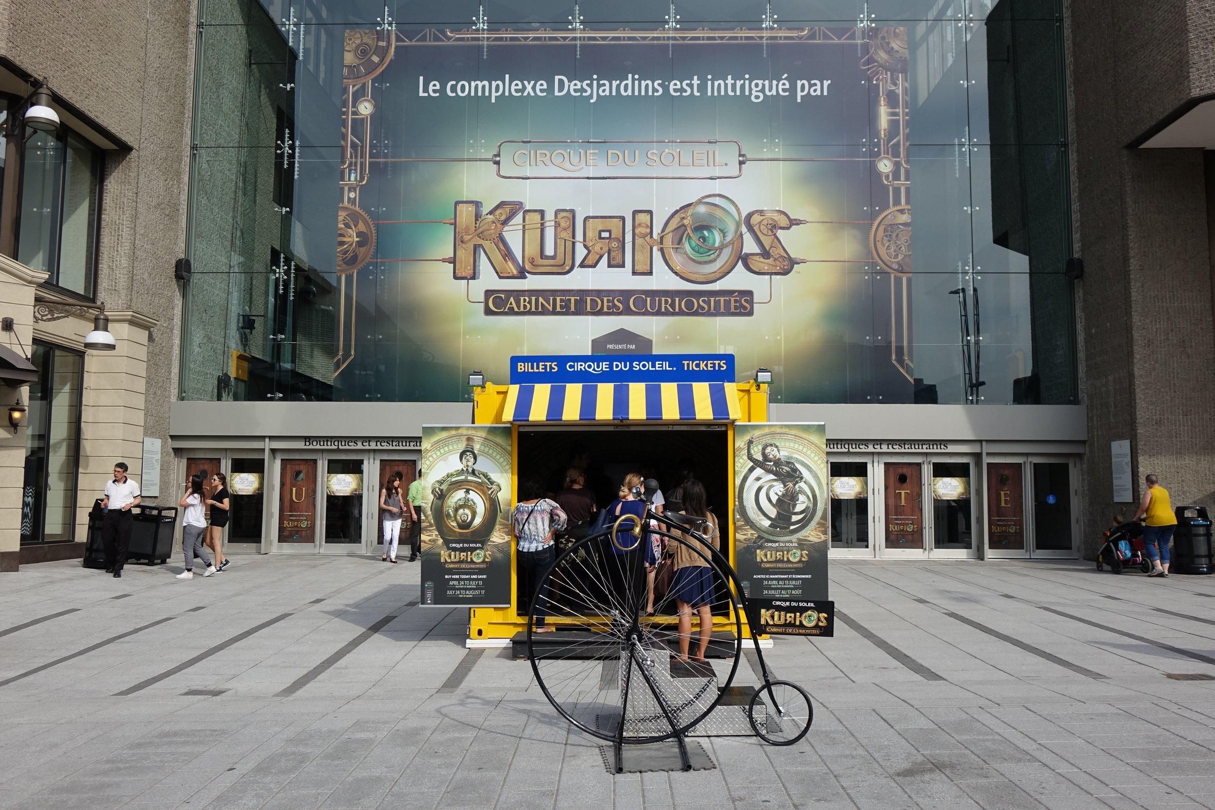 KURIOS (CIRQUE DU SOLEIL)   /// MONTREAL, MIAMI, PHILADELPHIA