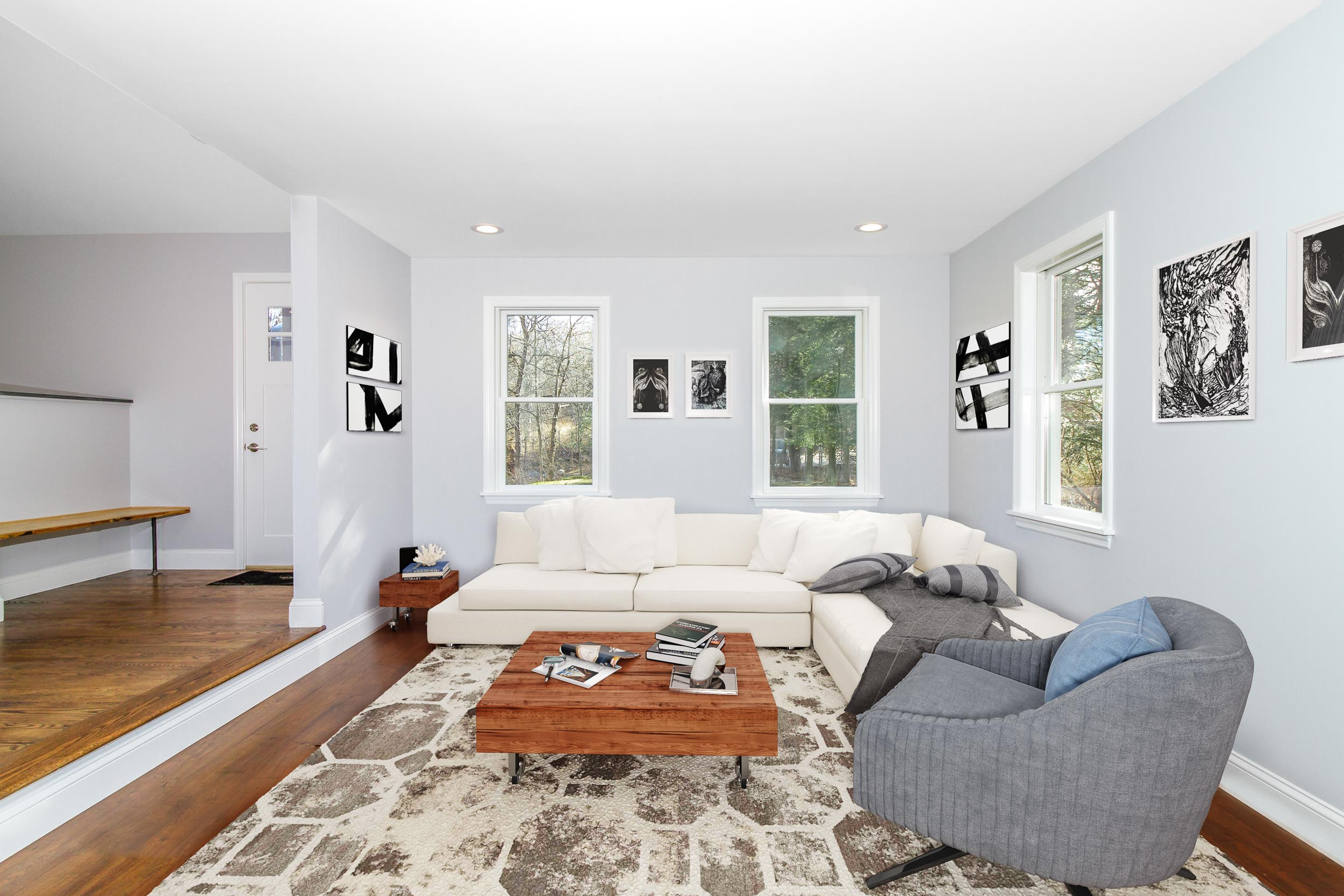 Copy of Virtual staging of a home after construction in Westchester Coun