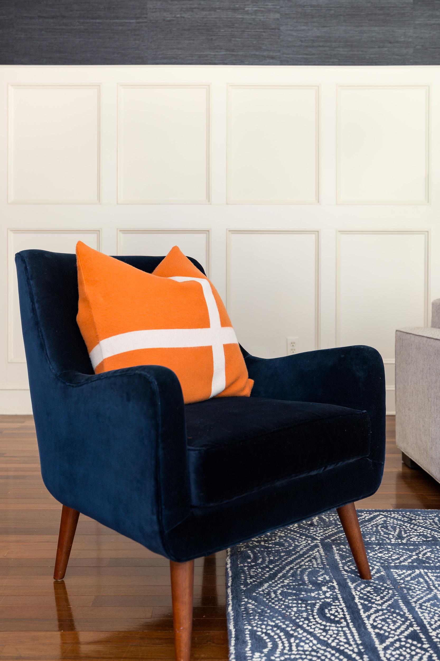 Modern design chair.