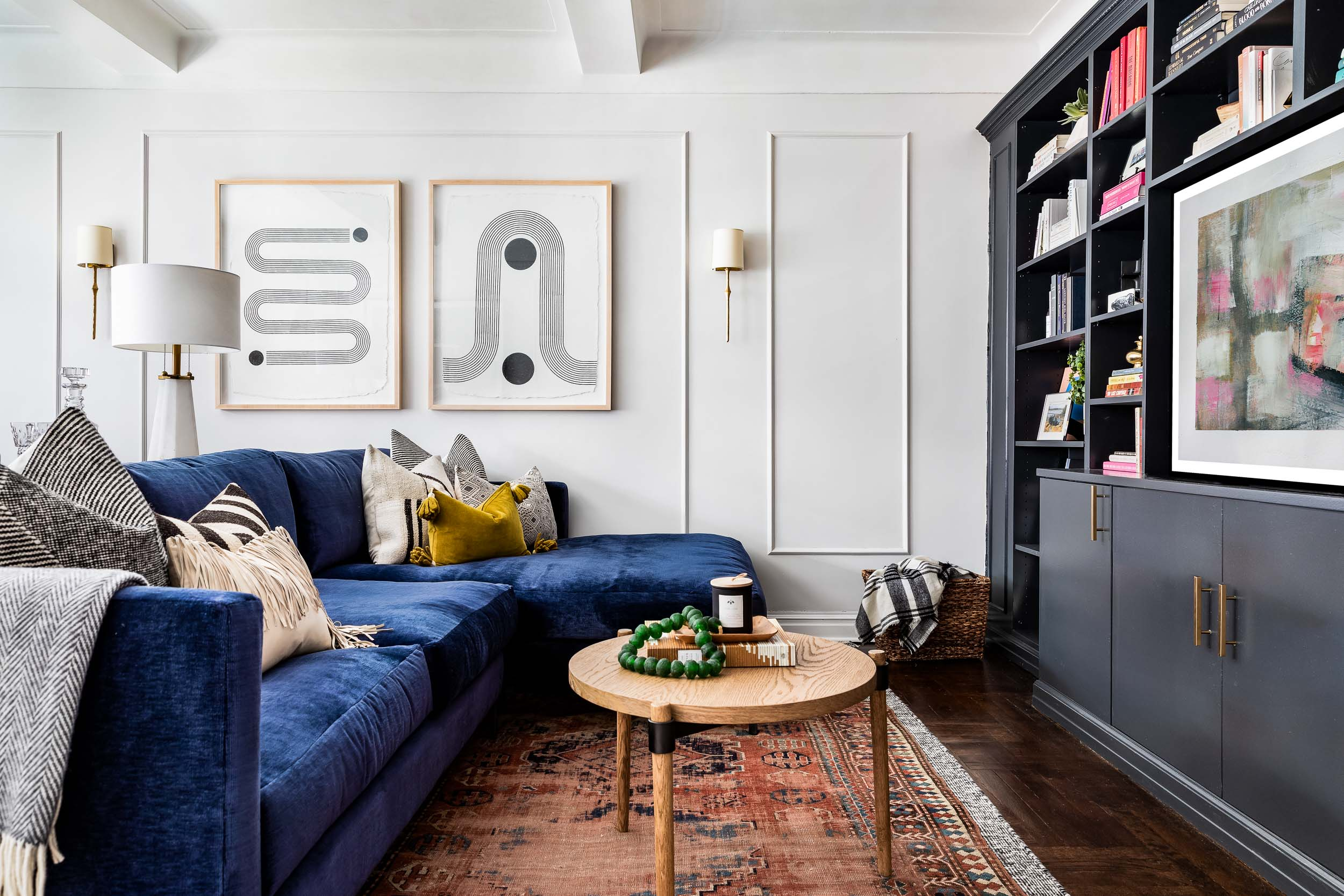 Interior design photography of an Upper East Site New York City