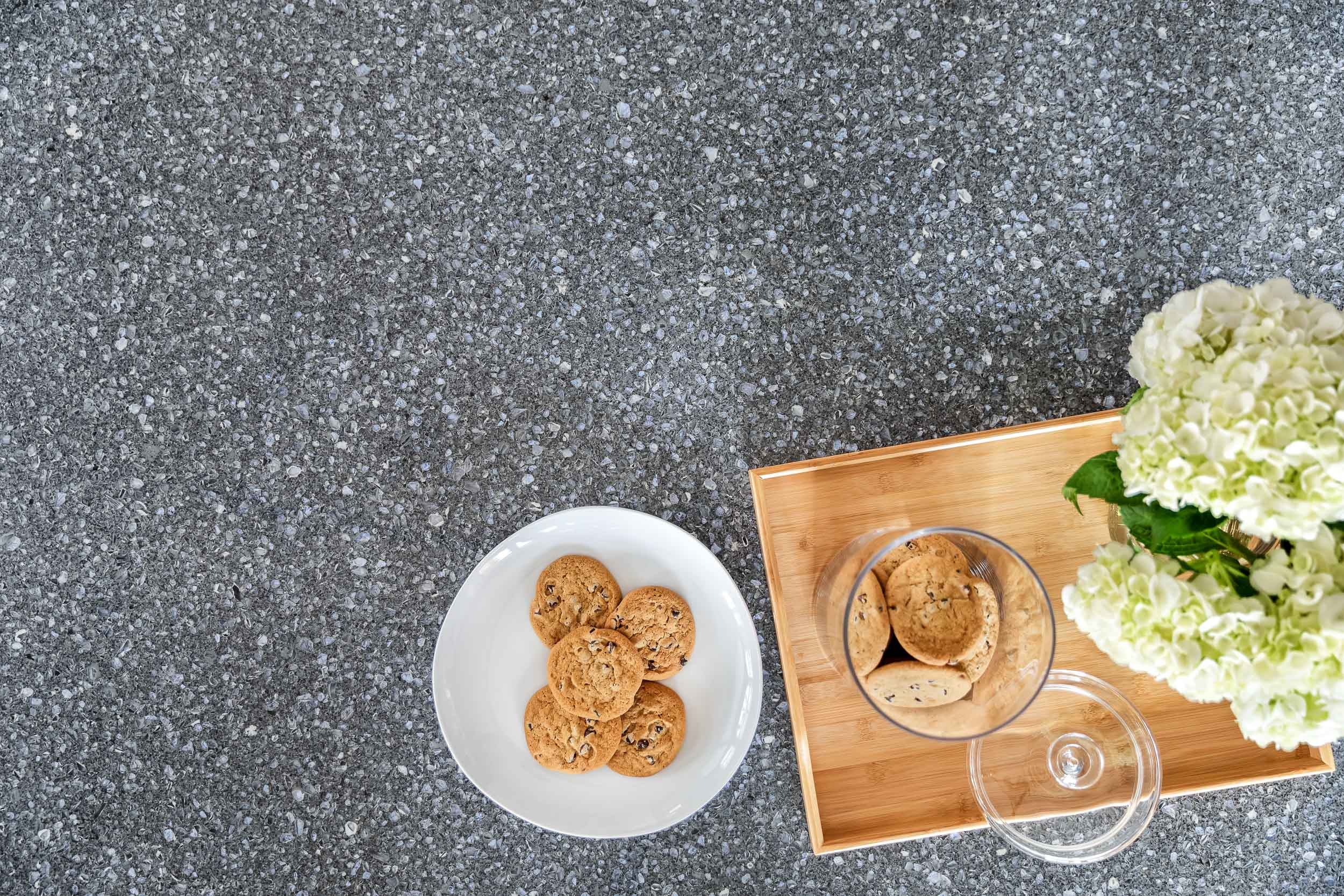 Product photography of a cambria quartz countertop in a  West Ny