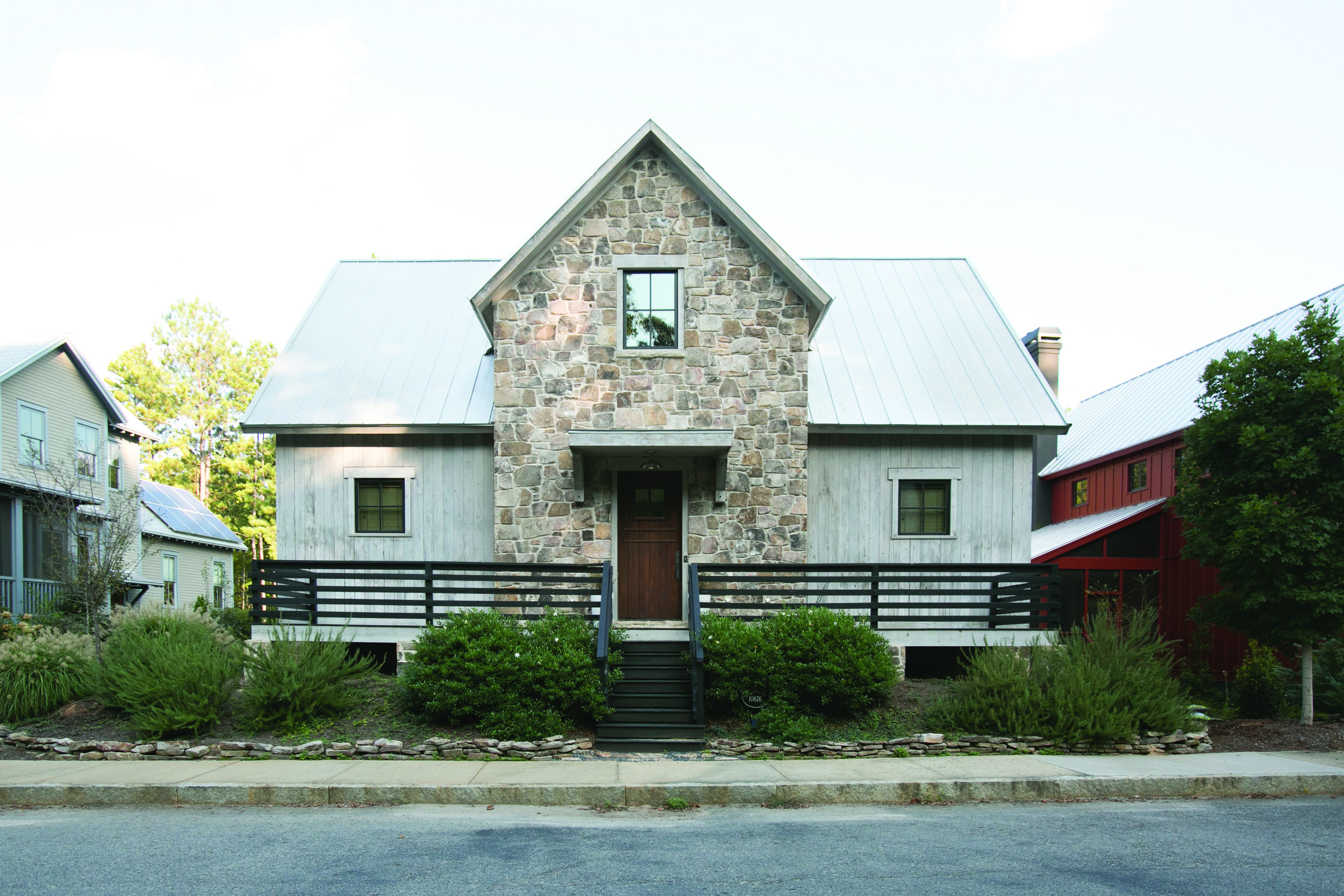 - In This Modern Farmhouse, The Writing's On The Wall