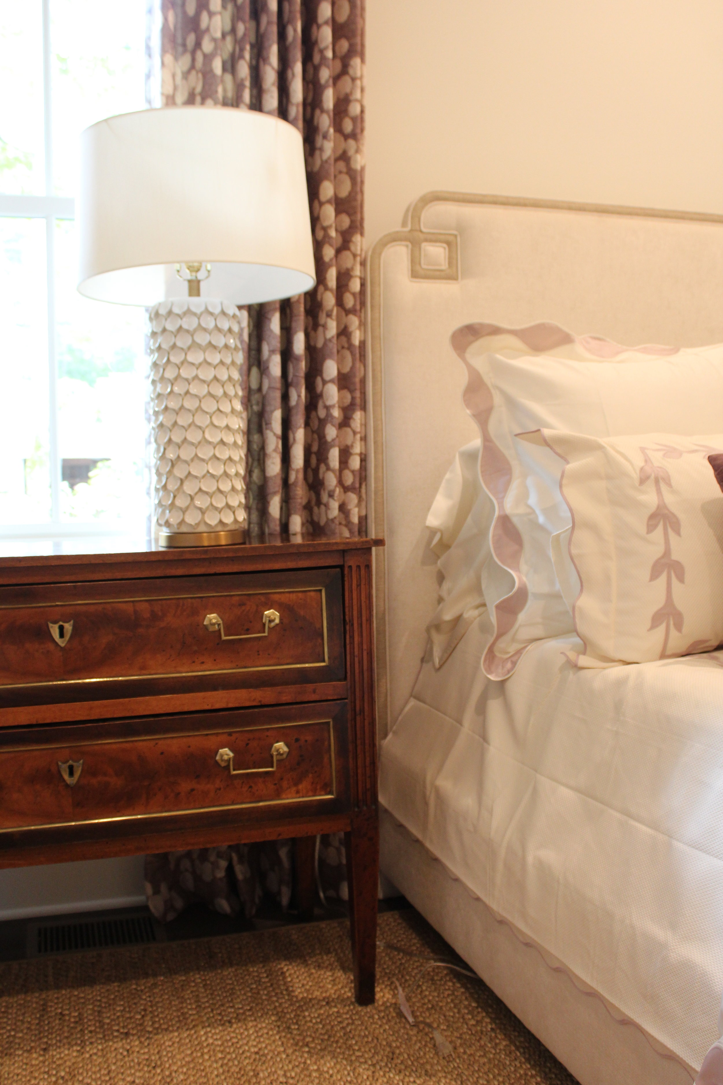 Master Bedroom,    Designed by Gretchen Edwards   , Gilstrap Edwards Interior Design. Photo by Stevie Seay.