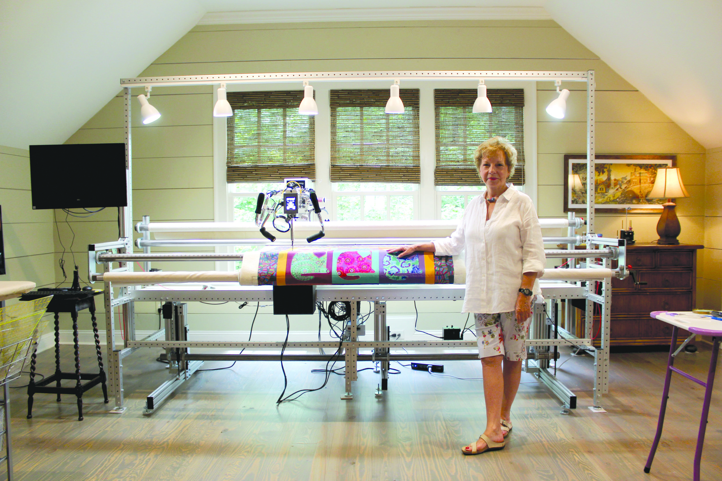 - Quilting Q&A With Artist Janice Barton