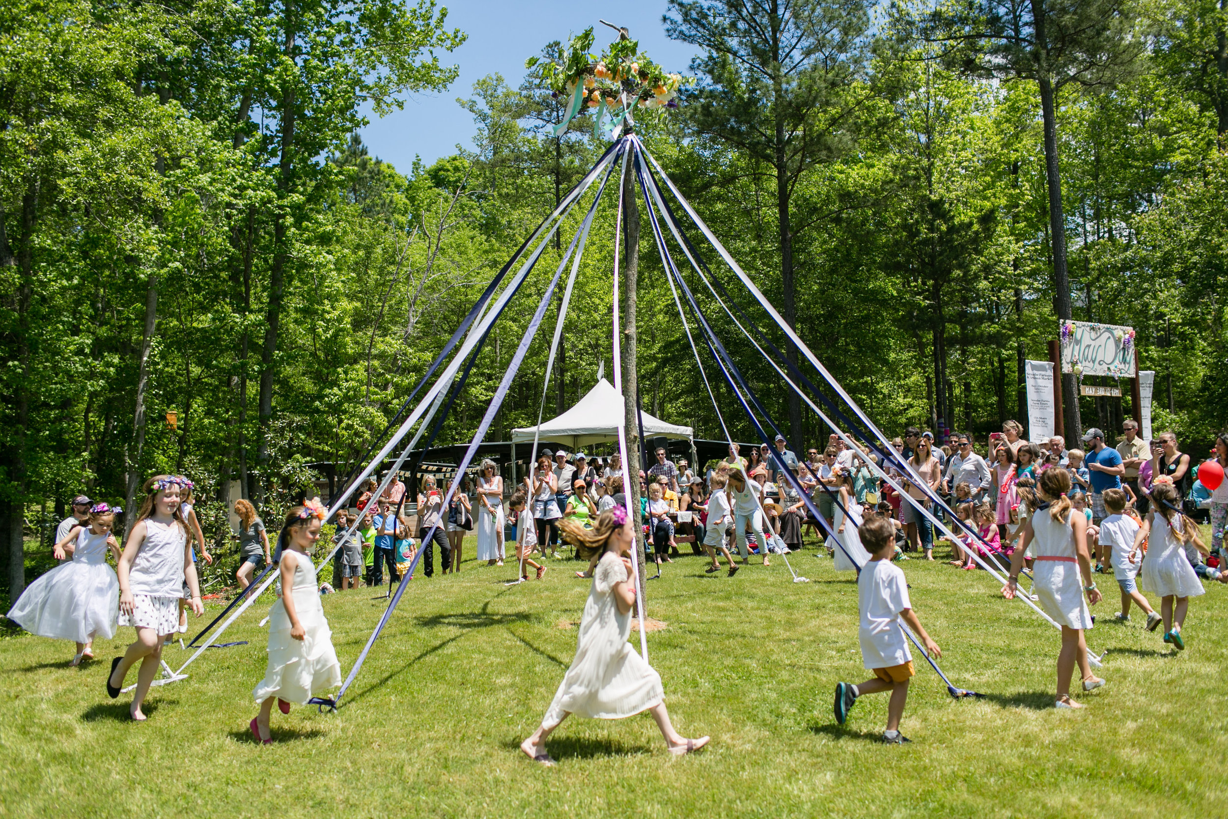 - Serenbe's Spring Blooms & Scenic Views Make For A Perfect Festival Backdrop