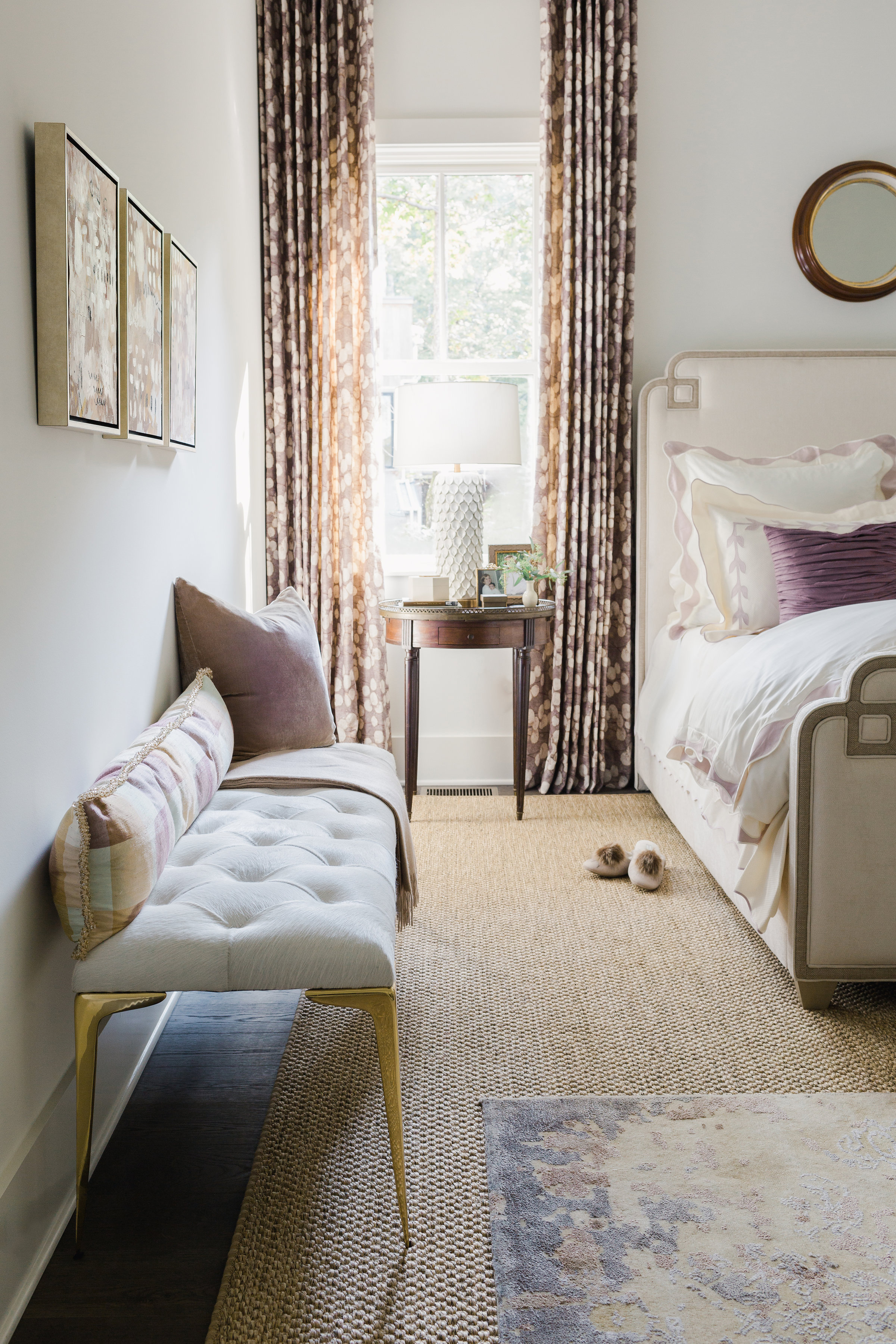 2018 Showhouse Master Bedroom & Bath by Gretchen Edwards, Gilstrap Edwards Interior Design.  Photo by    Ali Harper Photography   .