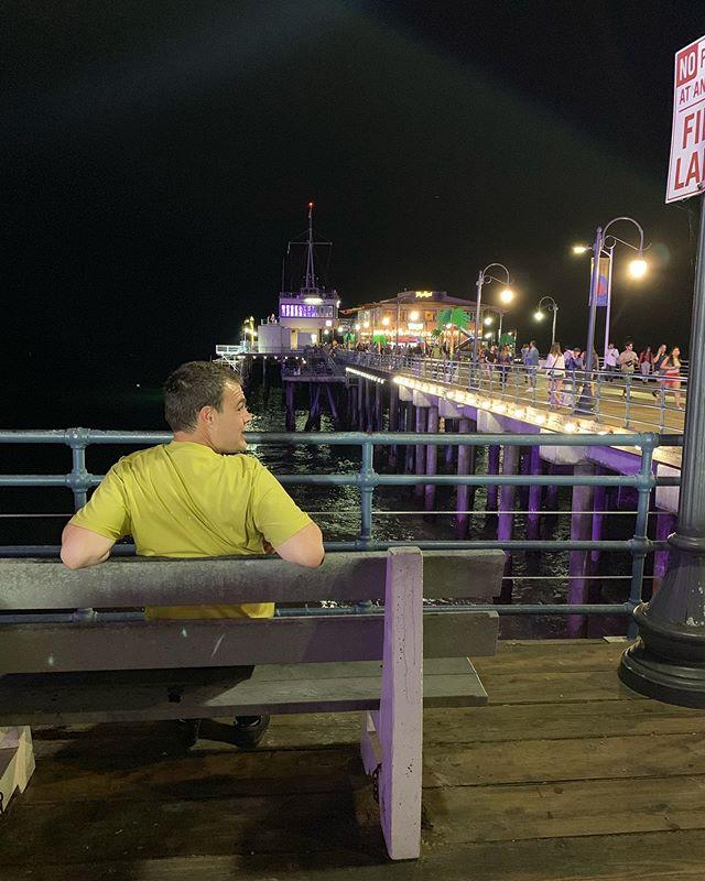 Santa Monica Pier 😎  #la #trip #santamonica #bliss