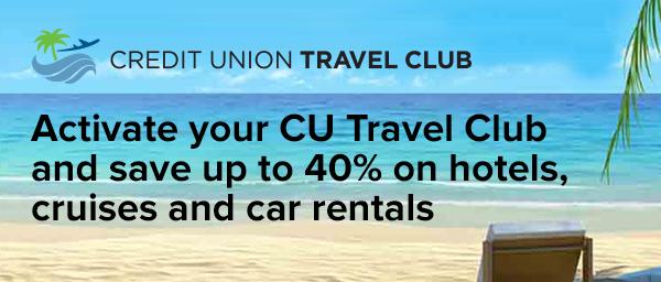 Activate Your CU Travel Club