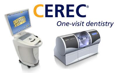 CEREC CADCAM machine