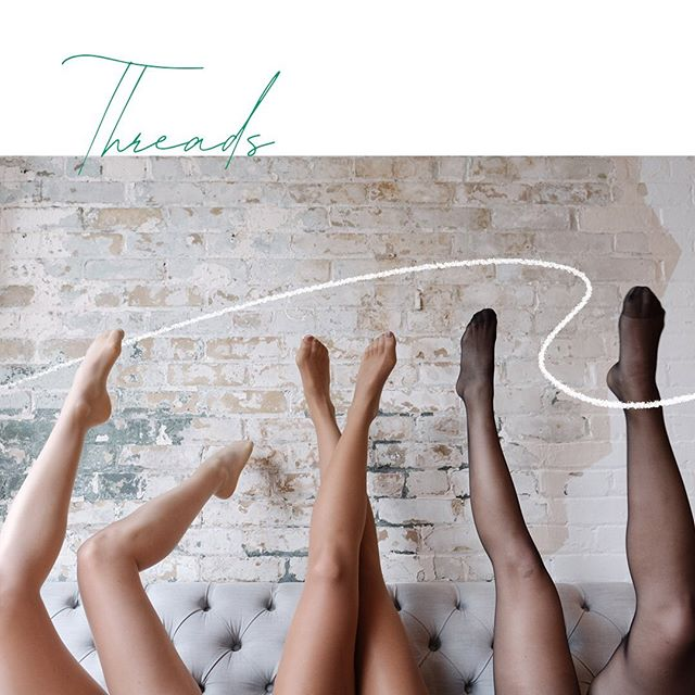 Meet @threads.co, a direct-to-consumer subscription pantyhose & tights service. At our @stacktmarket pop-up until September 22nd. Step on in. 👣
