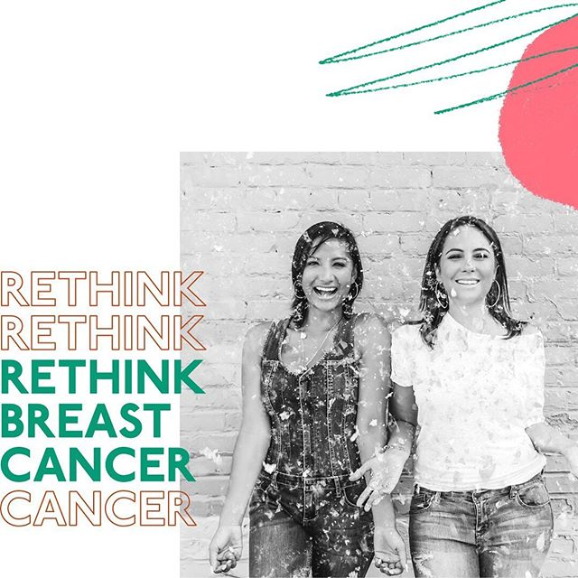 The young women's breast cancer movement is loud and proud. Nalie and Stephanie of @rethinkbreastcancer host their first ever Toronto meet-up at the @prettyelevated x @stacktmarket pop-up tomorrow from 2-5pm.