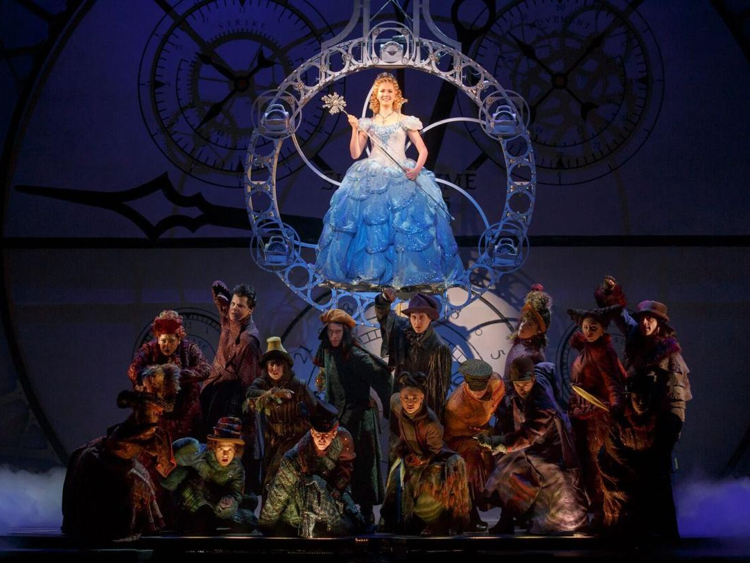 """Broadway Musical """"Wicked"""" - Enjoy dinner & a show, followed by a peek behind the Emerald Curtain with a Q&A with Cast Members including Glinda the Good Witch, played by Ginna Claire, one of our TLCC members."""