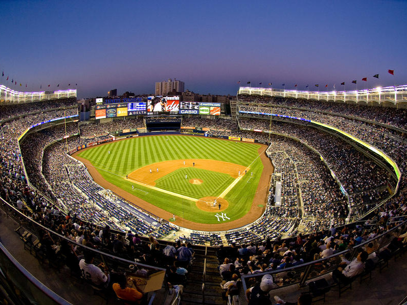 NY Yankees Game - Mix & Mingle, enjoy dinner and a Yankees game with other leaders in a private party suite at Yankee Stadium.