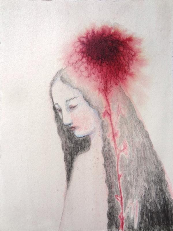 Portrait d'une fleur
