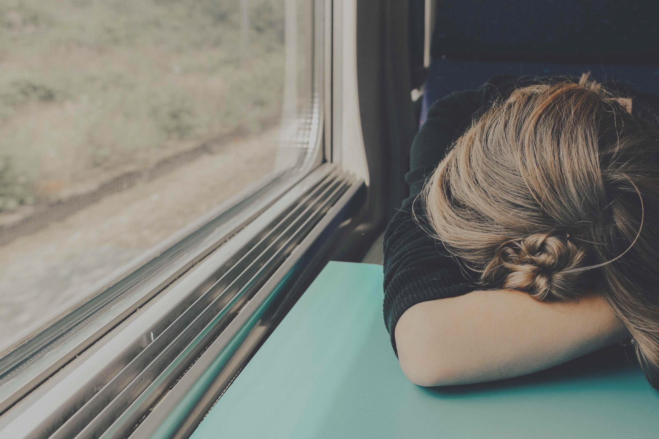 depressed woman feeling hopeless