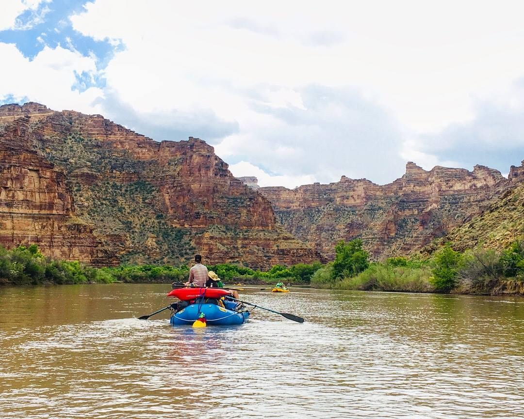 Desolation Canyon on the Green River. 📷  Alex Scholtz