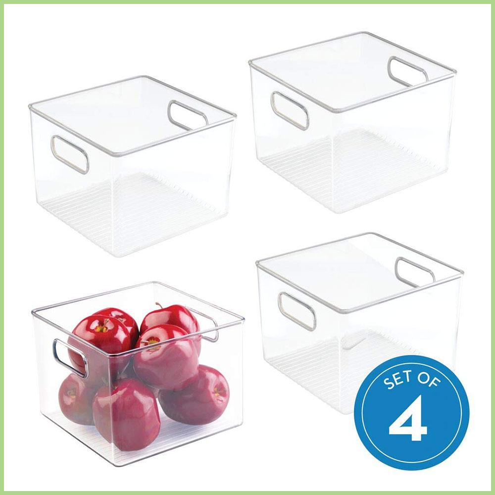 Clear Small Storage Bins