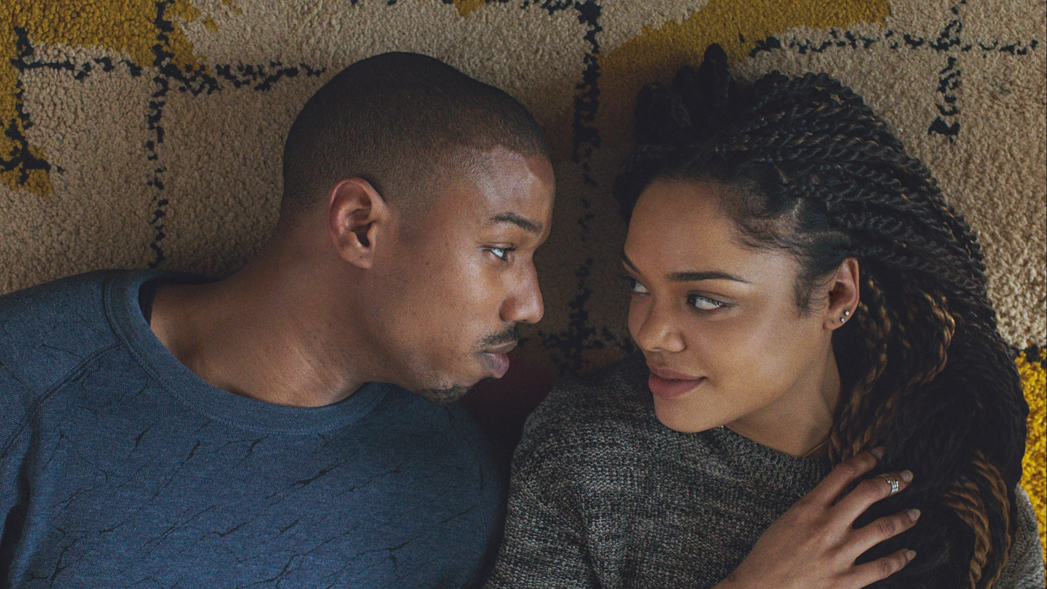 Tessa Thompson and Michael B. Jordan in Creed   Enthusiastic Consent: A Valentine's Day Watchlist   onecriticalbitch.com