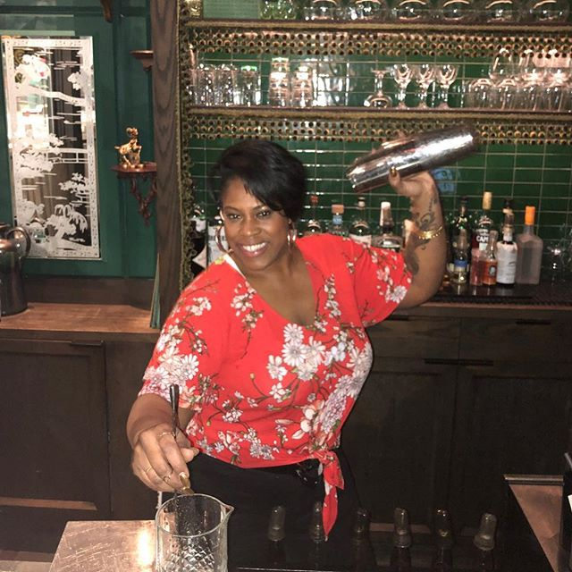 3/26 will be at last Tuesday at Virgin. We had a Month long series Celebrating Woman's History Month. Rakia @tharealthng is our mixologist for the evening.  The Lexluga  1oz volcan tequila .75oz passion fruit syrup(real) .5oz ancho Reyes chili liquor .75oz lime juice Top with Chandon  Cheers to Alexis Brown- the inspiration for this classic margarita riff. Passion fruit representing her  passion and dedication for @causingastir_ spice representing her fearlessness and confidence to stand for what she believes in and bubbles that represent her overall bubbly charming personality that we all know and love.  We want to say THANK YOU  so very much Becky, MJ, Zack have all been amazing. @babesonlyfun we hope to work with you in the best future. We appreciate all the wonderful DJ's you provided for this series.