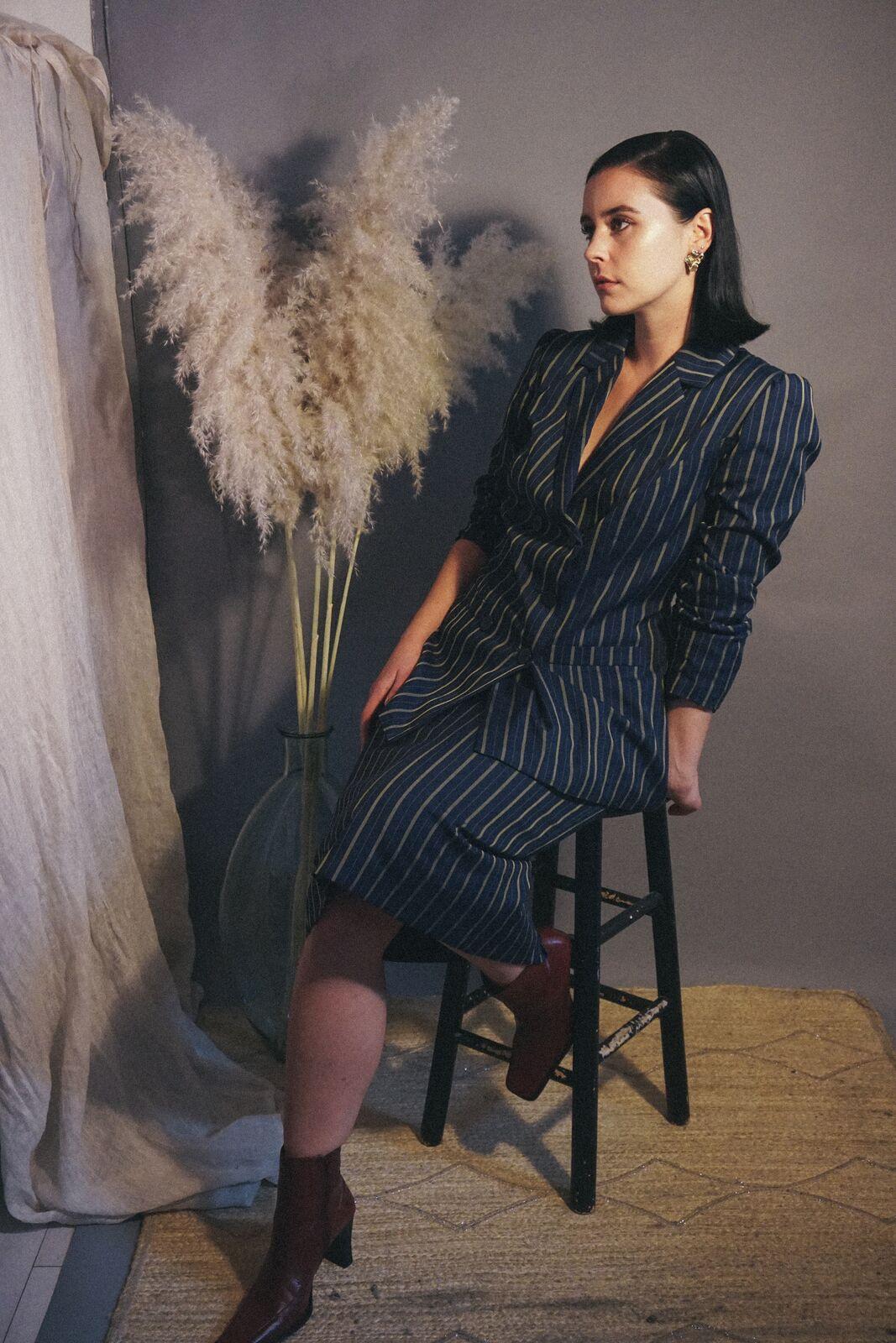 Vintage Suit:  Modish Riot  Jewelry: Nina Rios