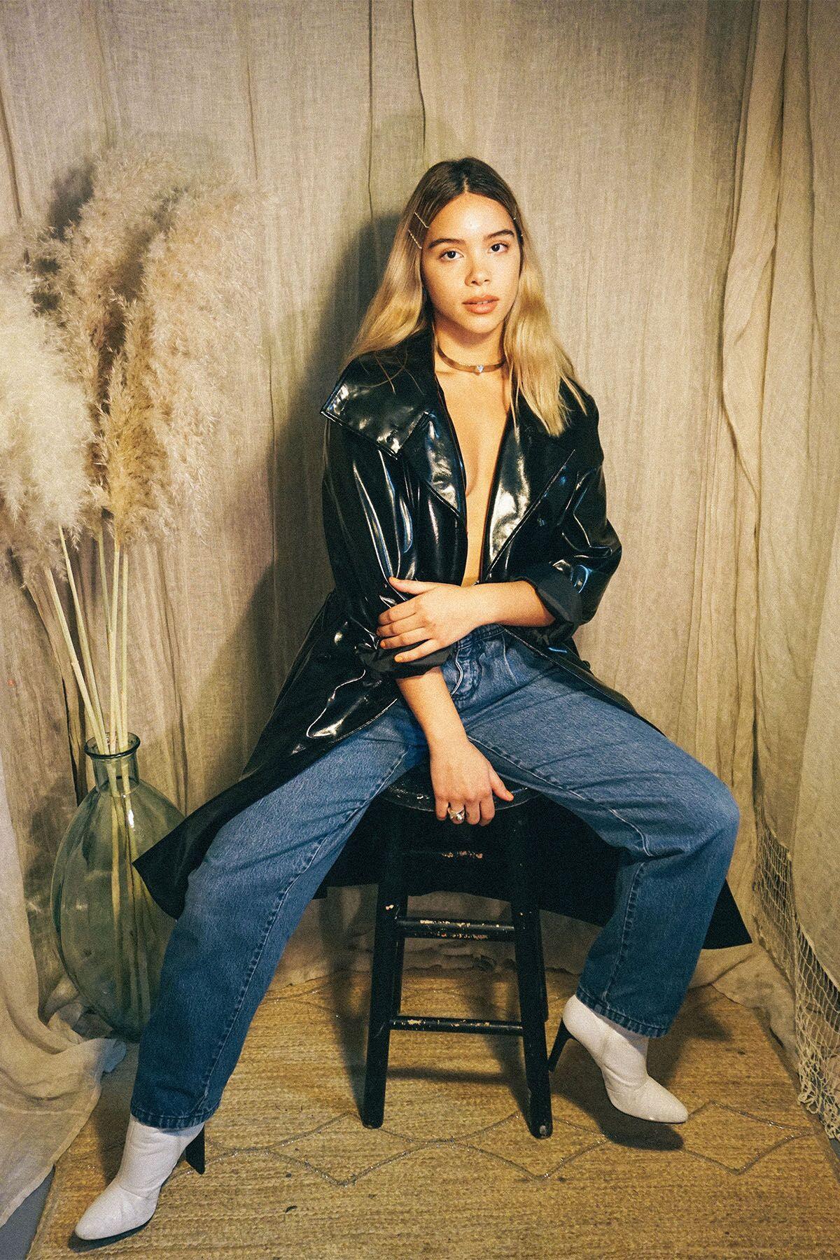 Jacket: Modishriot, Jewelry: Nina Rios