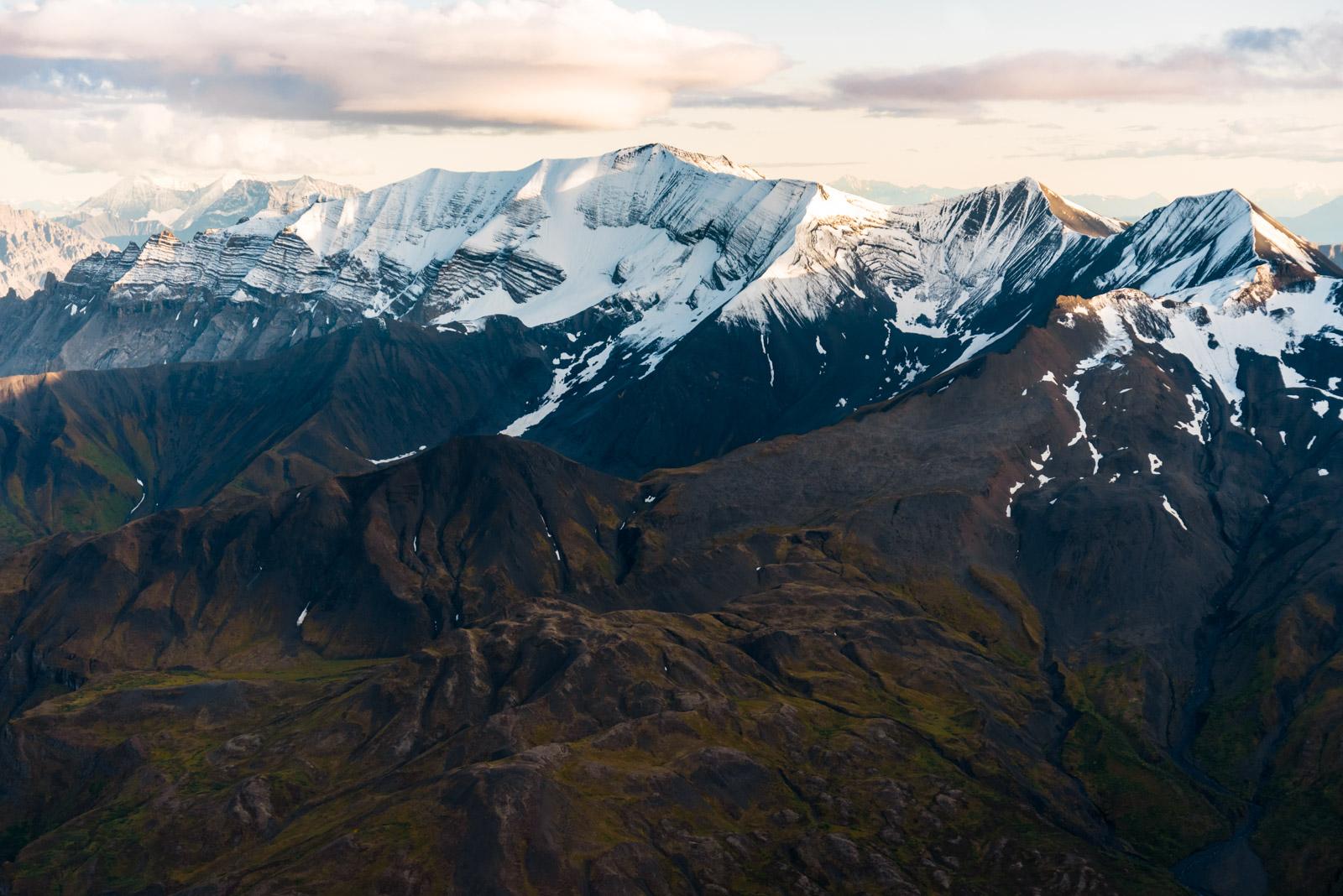 Thirteen Glacier Tour: Snow Covered Peaks