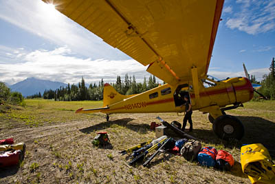 Dropoff Rafting Trips: Loading Beaver After Rafting Adventure