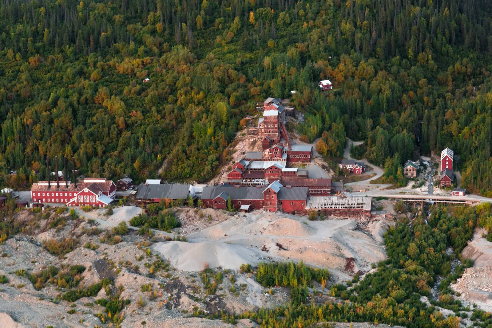 Mile High Cliff Tour:  Kennicott Valley, Kennecott Mill Building