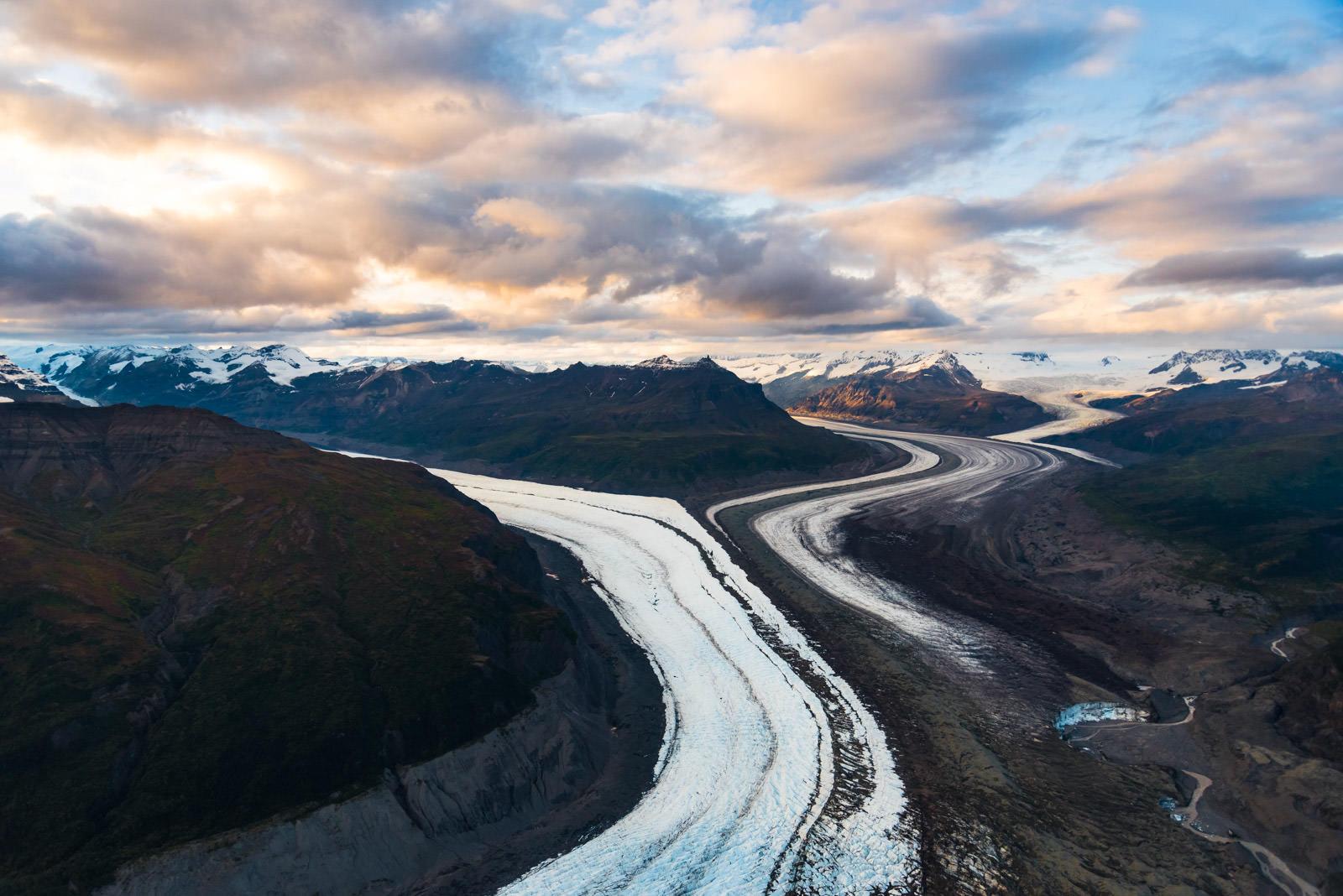 Thirteen Glacier Tour: Nizina Glacier
