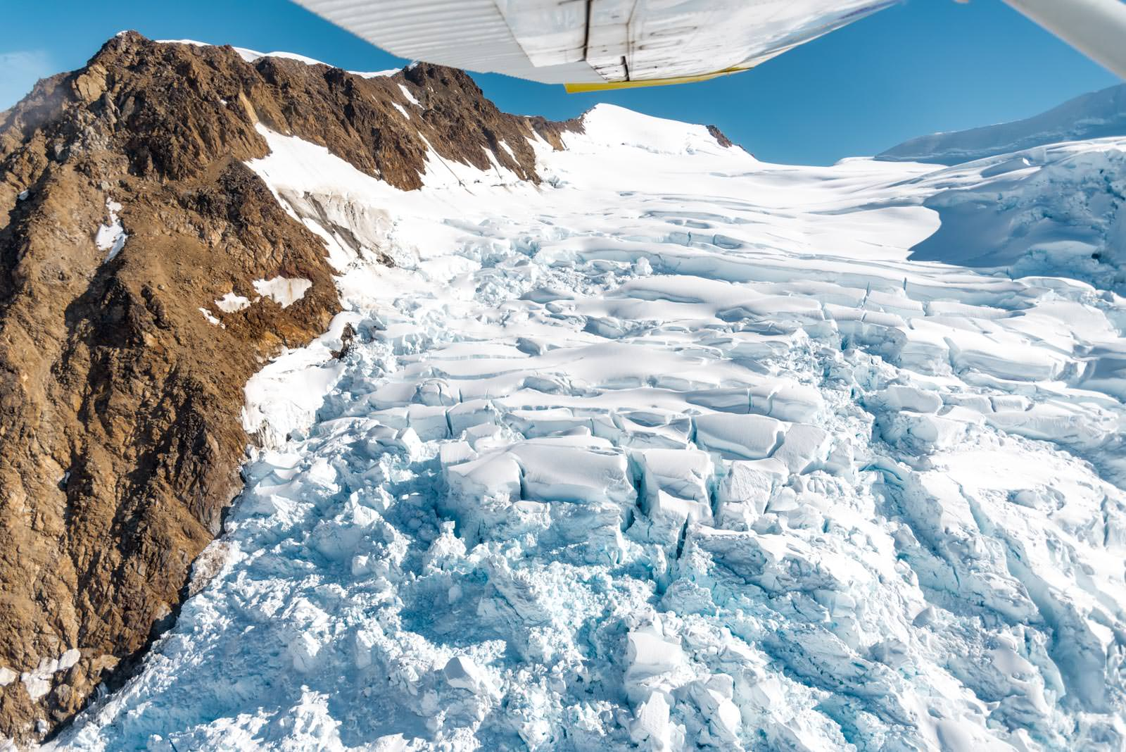 Bagley Icefield - University Range Tour: Upper Bremner Icefall