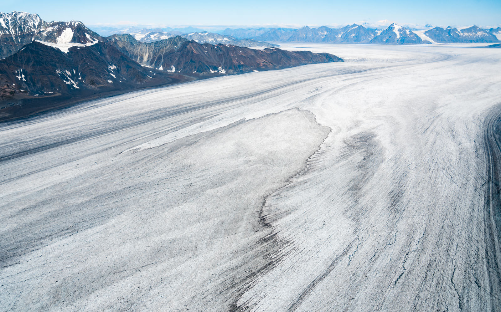 Bagley Icefield - University Range Tour: Bering Glacier