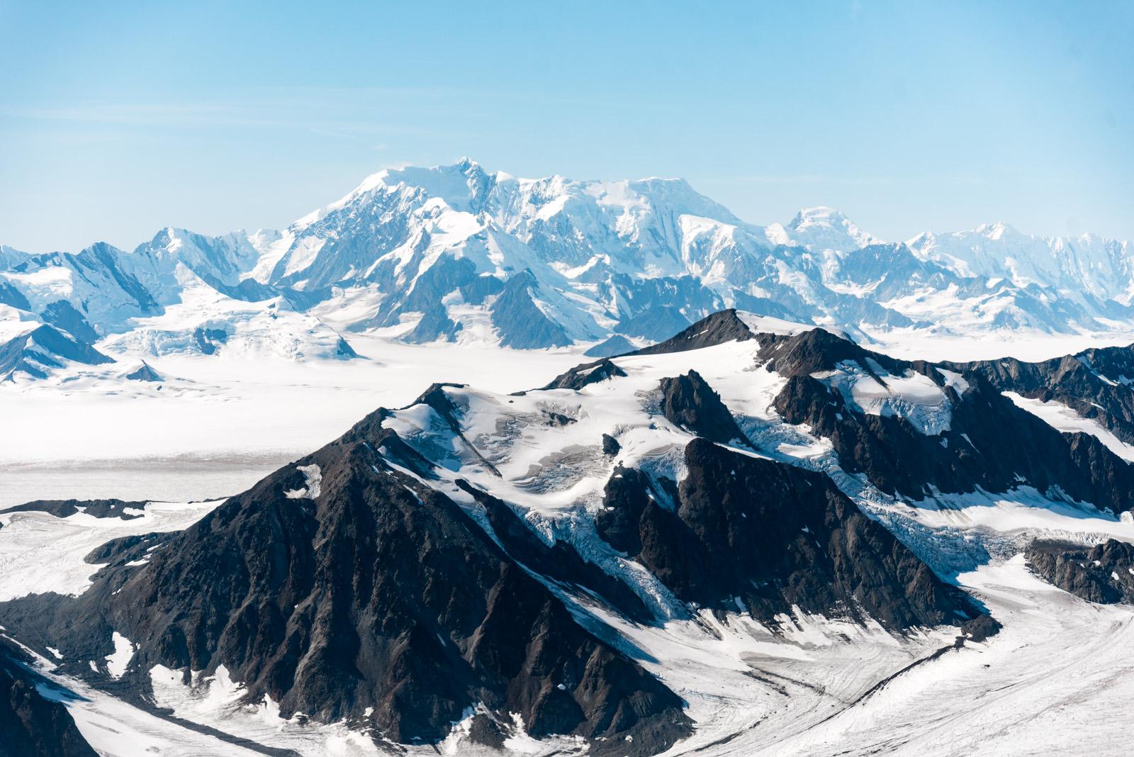 Bagley Icefield - University Range Tour: Mt Stellar