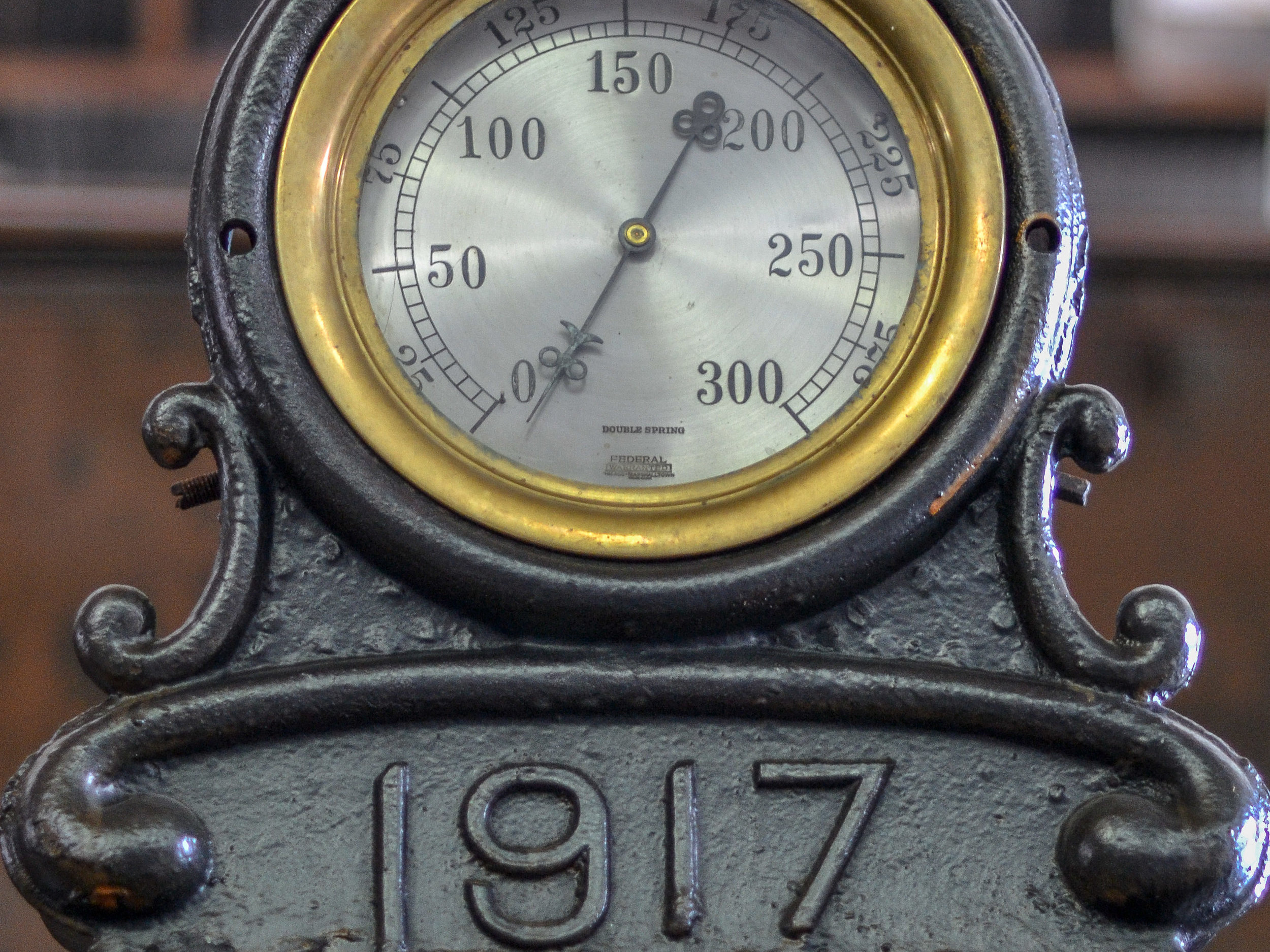 Historic Day-Trip: Kennecott Power House Pressure Gauge