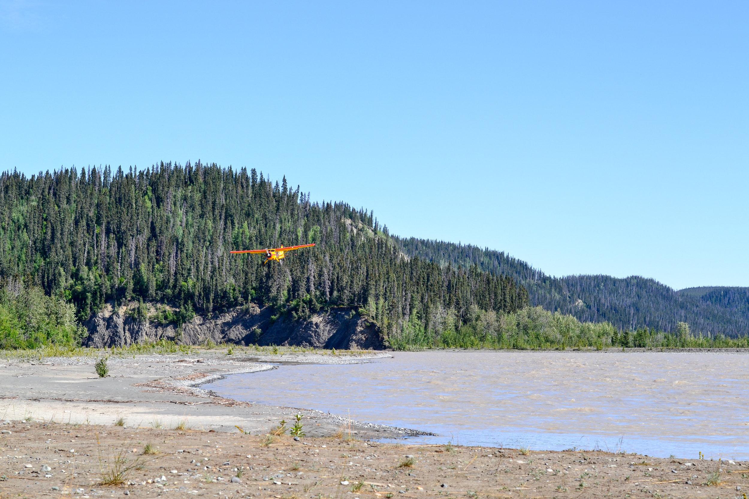 Rafting Dropoff Pickup Beaver Final Approach