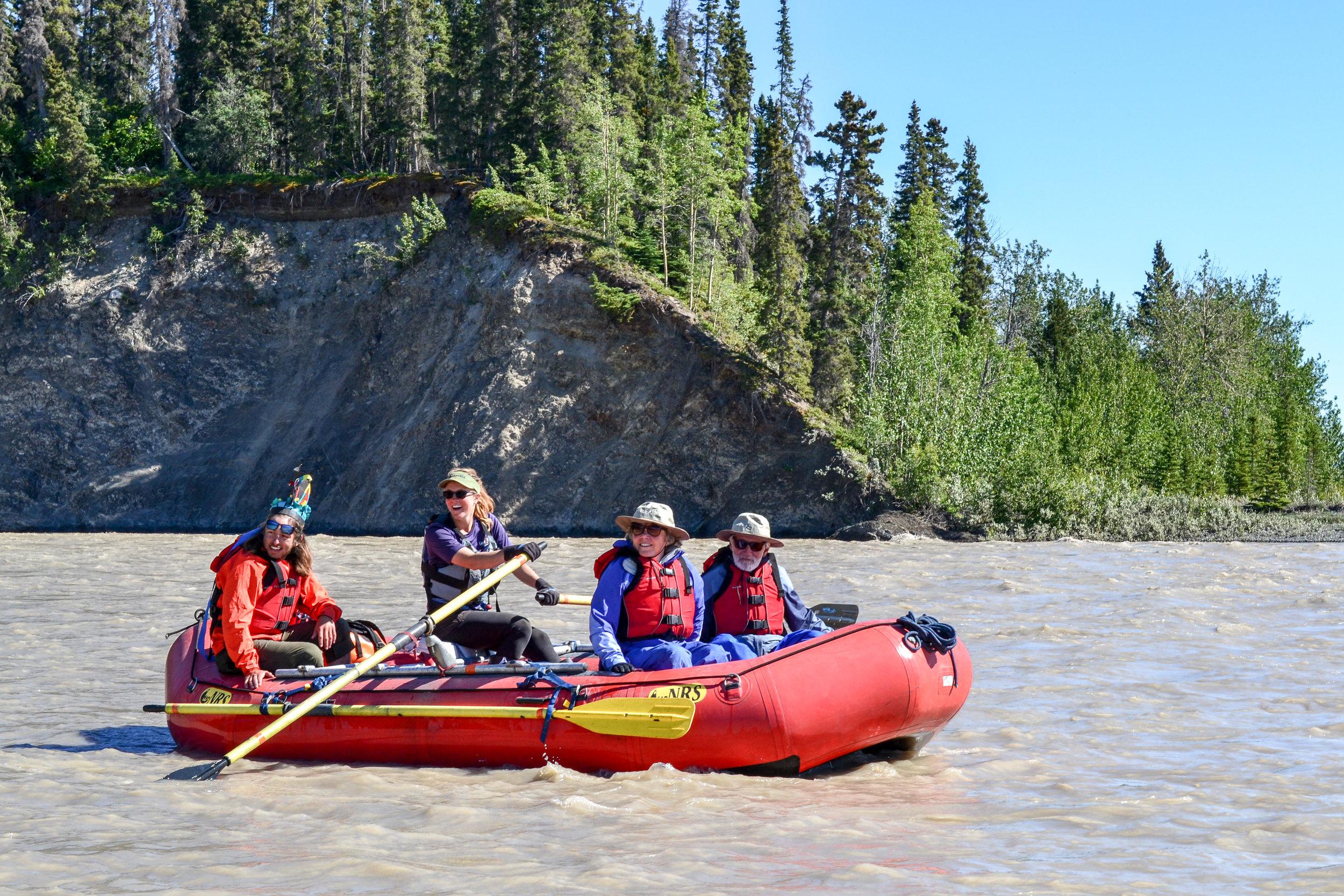 Rafting Nizina River Backcountry Rafting Dropoff