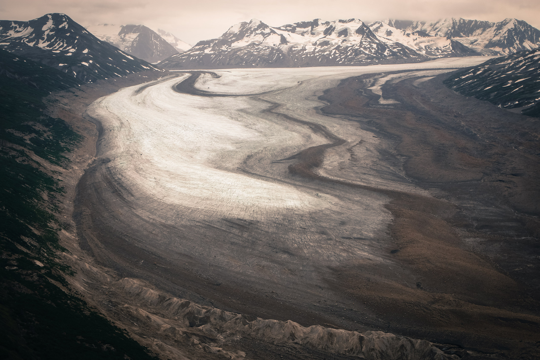 Jewels of the Wrangells Tour:  Spotlight on Glacier