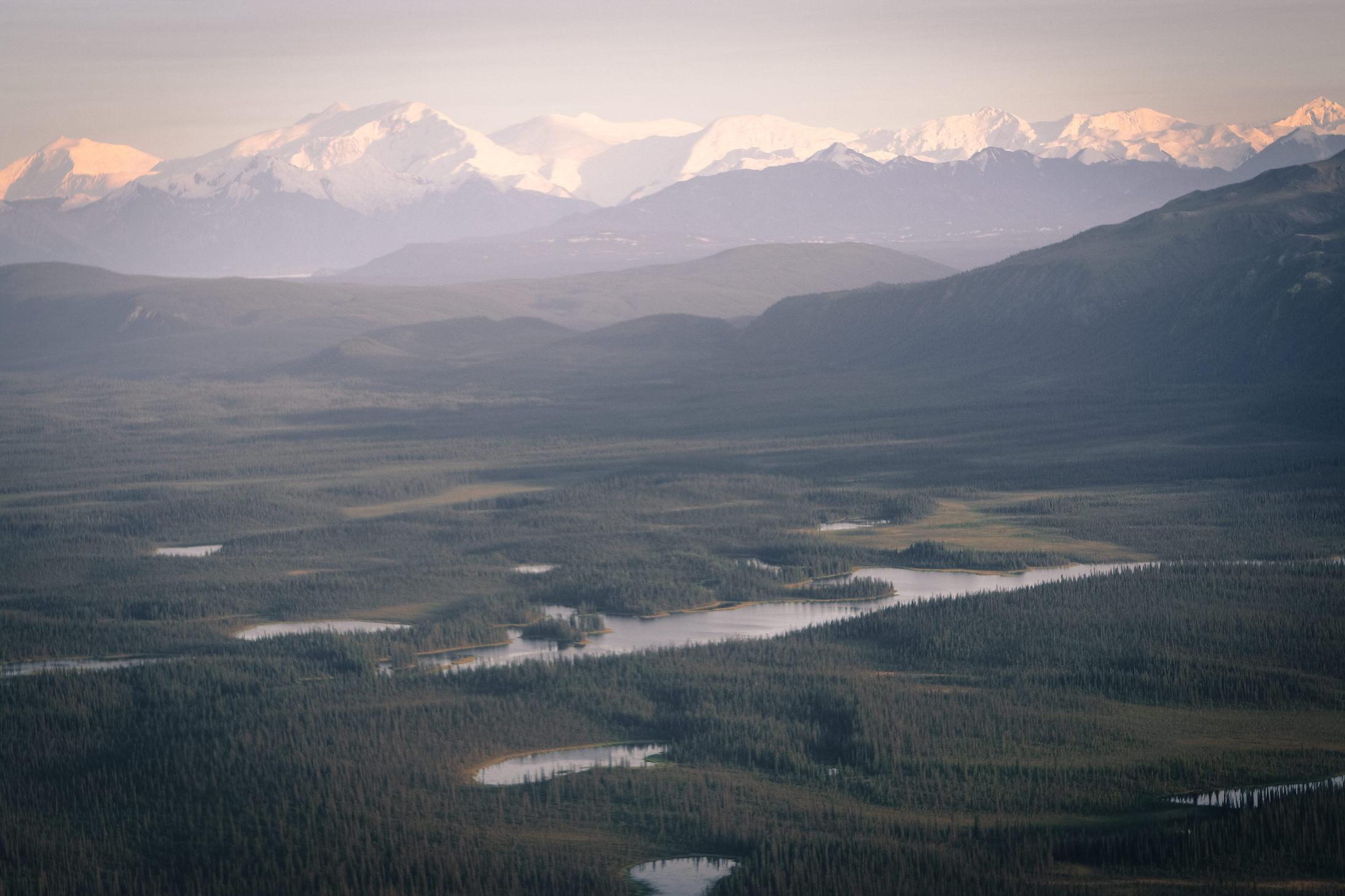 Jewels of the Wrangells Tour:  Alpenglow Valley