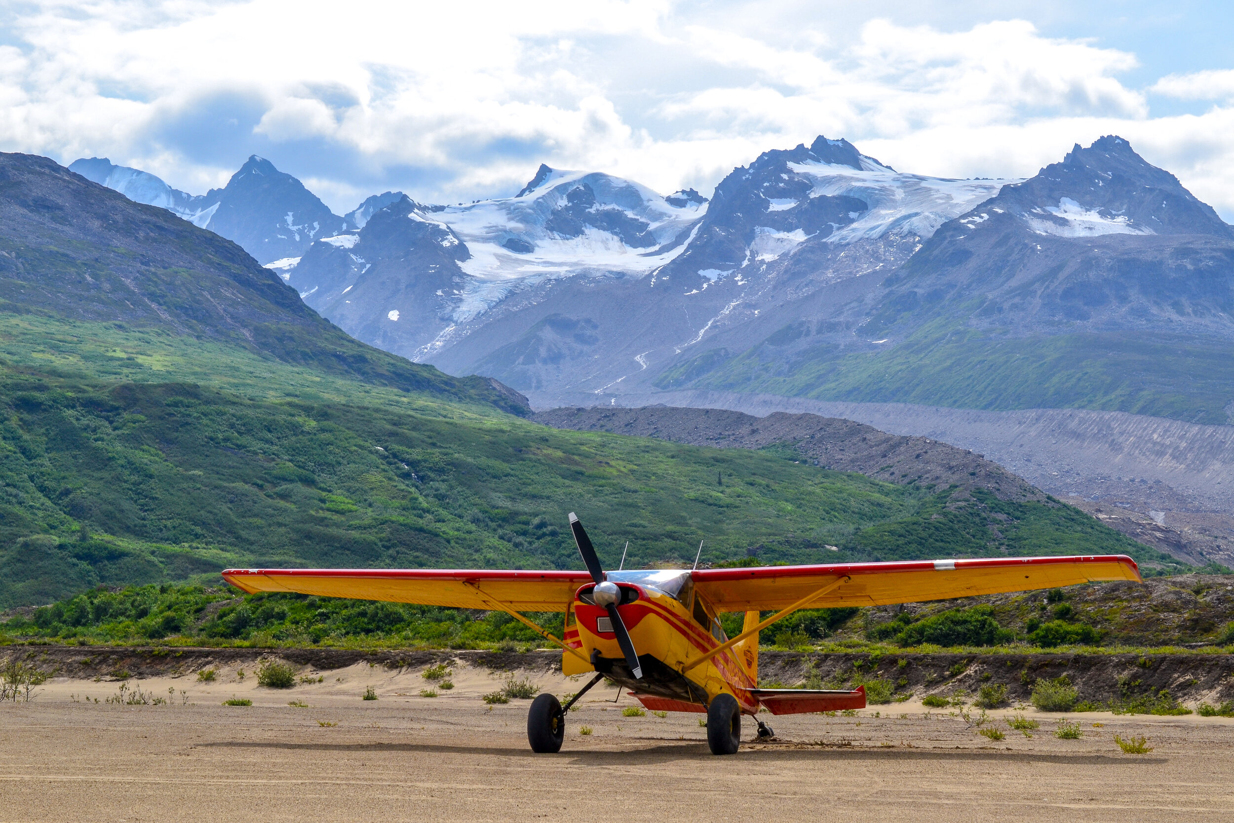 Cessna 185 Backcountry Backpacking Drop-off