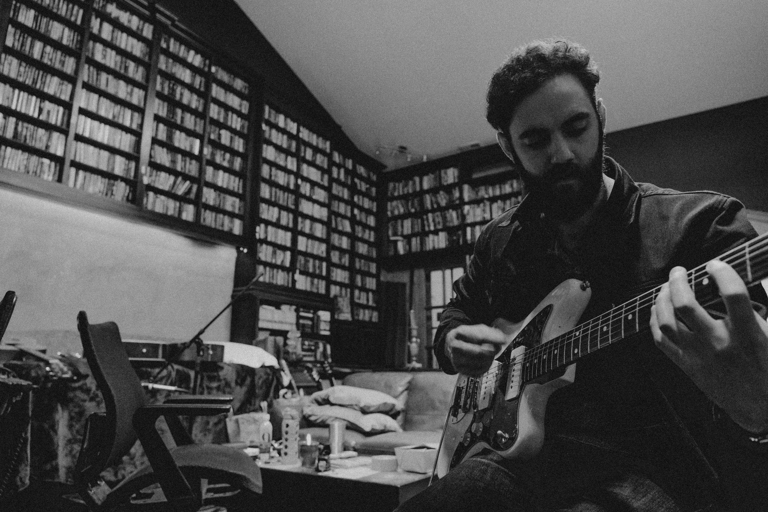 Josh In Studio B_W.jpg