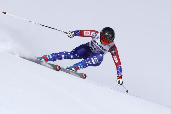 Super G in Saint Moritz, Switzerland