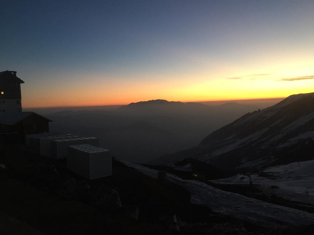 One of many beautiful sunsets!
