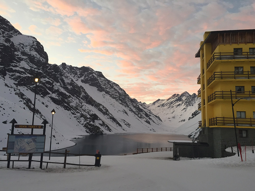 Beautiful sunsets in Portillo:)