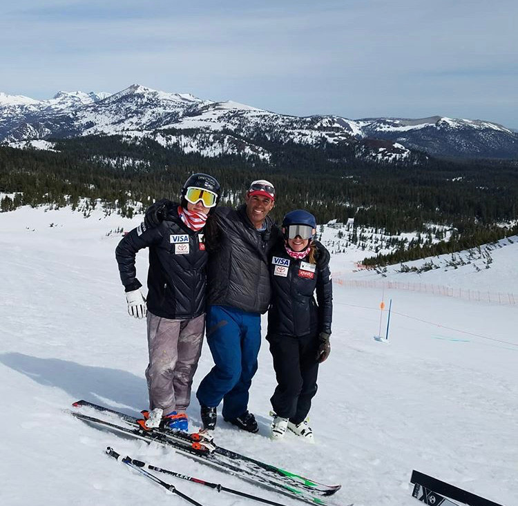 Michael Rogan - Nicest human, rad ski expert, and perfect guy for Alice and I to do our return to snow with. Fun skiing again with Alice after her brutal injury as well. Such an inspiration.
