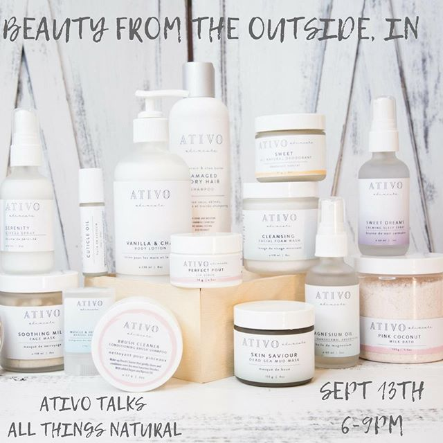 WHO ELSE IS EXCITED FOR TOMORROW NIGHT!?! __ If you don't follow @ativoskincare already, you should!  Tracy has been bombarded with messages, DM's and emails over the past few days about their skincare products (on top of her highest sales days to date), that AWESOME #magnesiumoil we told you about yesterday and more ... ... BUT ... ... DID YOU KNOW ... ... If you come join us tomorrow night ... ... YOU CAN ASK THEM IN PERSON 😲🙋🏼 🔗 in bio for details!  Hope to see you there, XO