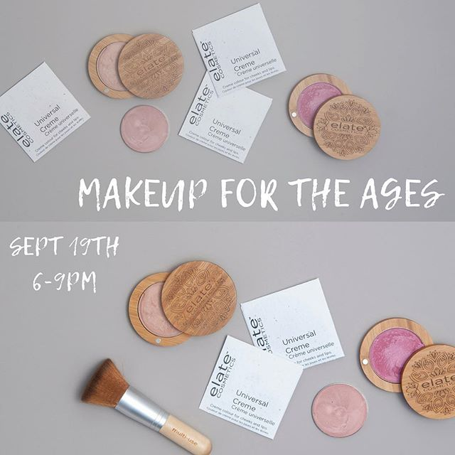 40 IS THE NEW 30...RIGHT?!? ⠀ ⠀ __⠀ Feeling a little out of date when it comes to your makeup? ⠀ The looks you were doing 5 - 10+ years ago, not turning out the same as they once were? ⠀ Want to learn more age complimenting versions of the current trends?⠀ Or maybe you're just looking to perfect that winged liner or smokey eye?⠀ ⠀ __⠀ 🥂FIND A GIRLFRIEND, RESERVE YOUR SEATS AND COME JOIN US!! ⠀ ⠀ __⠀ ⠀ We're excited to bring Jac from @thegreenbeautycollective back again for another fun filled night playing with makeup! ⠀ ⠀ ⠀ 🔗 Link in bio for more details and ticket information!!